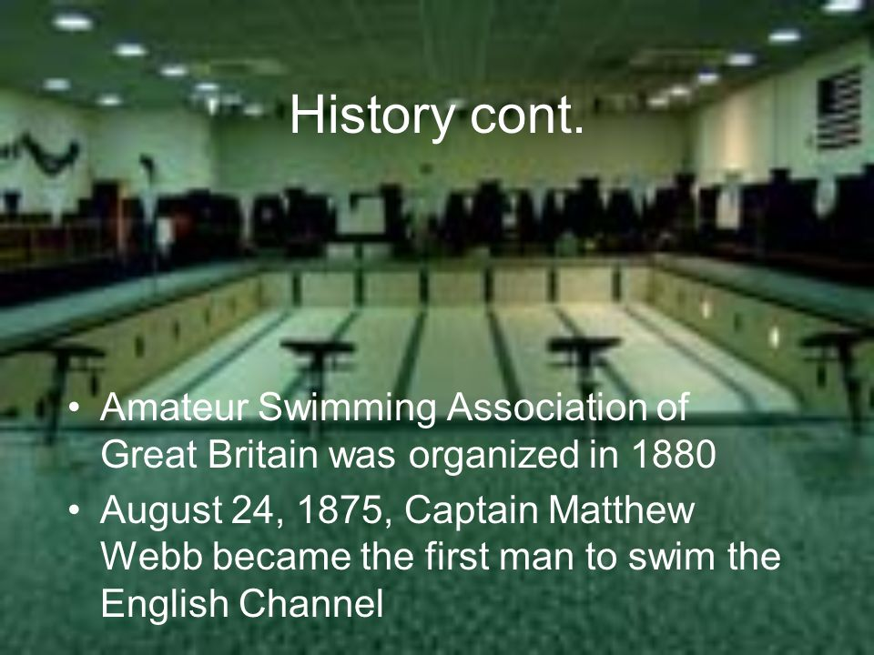 Amateur swimming asociation
